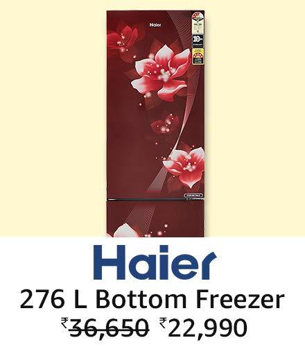Haier 276 L Floral
