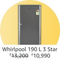 Whirlpool 190L single door