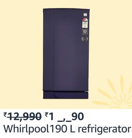 whirlpool 190L