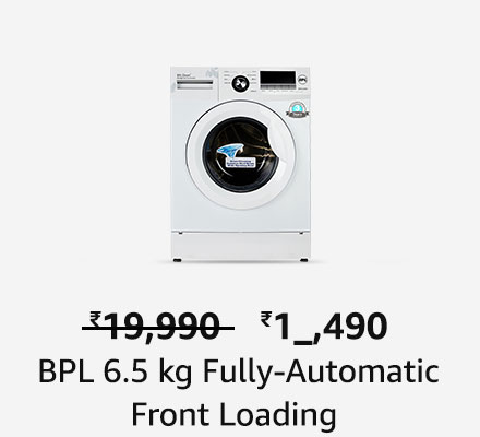 BPL Fully Automatic Front Loading