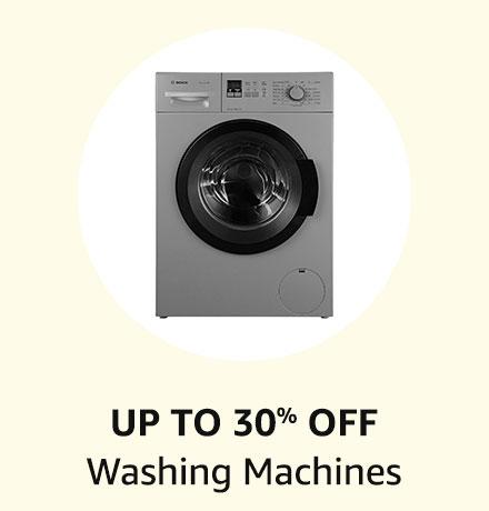 Up to 30% off Washing Machines