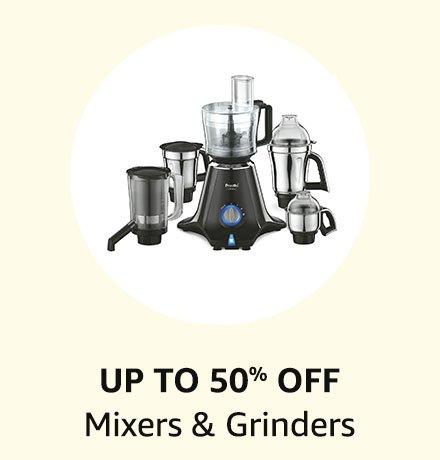 Up to 50% off Mixers & Grinders