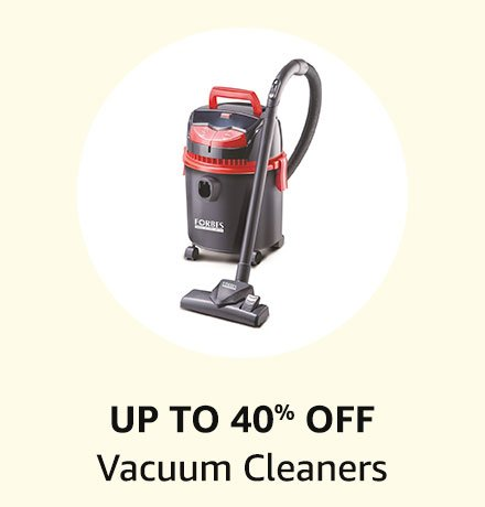 Up to 40% off Vacuum Cleaners
