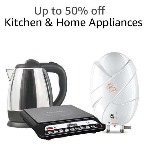 .Up to 50% off Kitchen & Home Appliances
