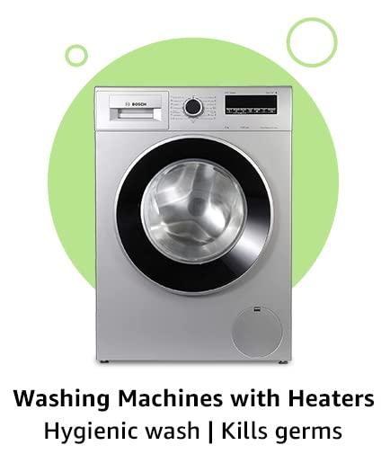 Washing Machine with heaters