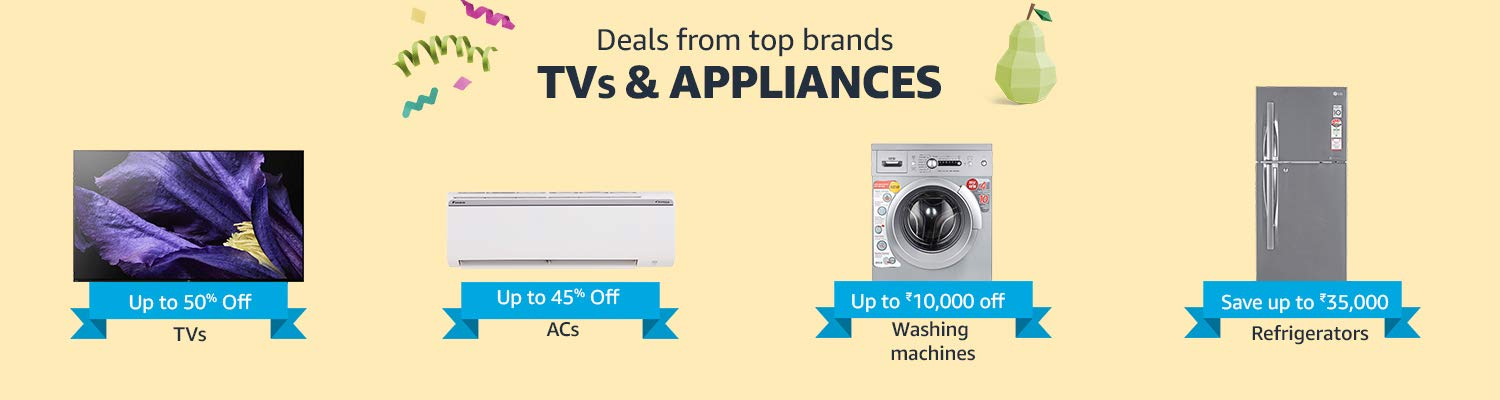 TVs & Appliances