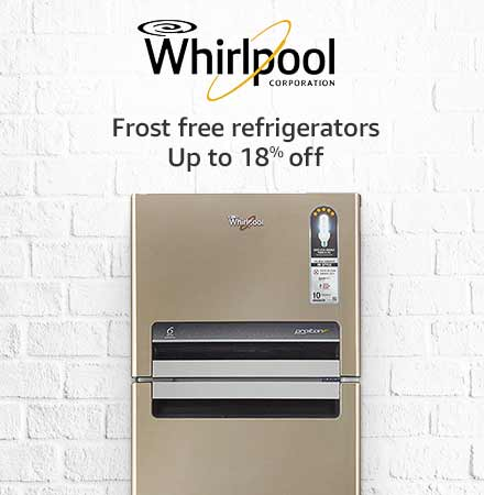 whirlpool double door