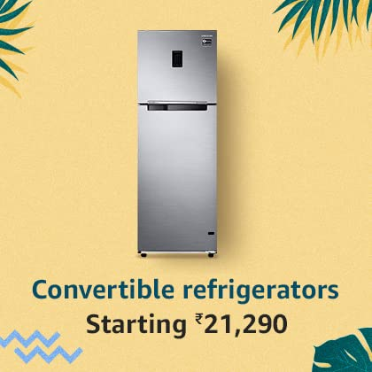 Convertible refrigerators | Flexible cooling & storage capacity