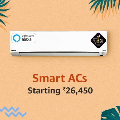 Smart ACs | Wifi enabled | Works with Alexa | B084365NVF