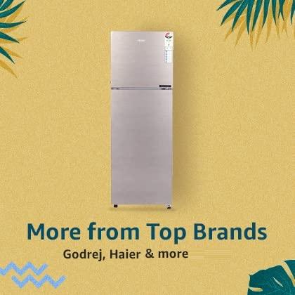 more top brands - refrigerators | Flexible cooling & storage capacity