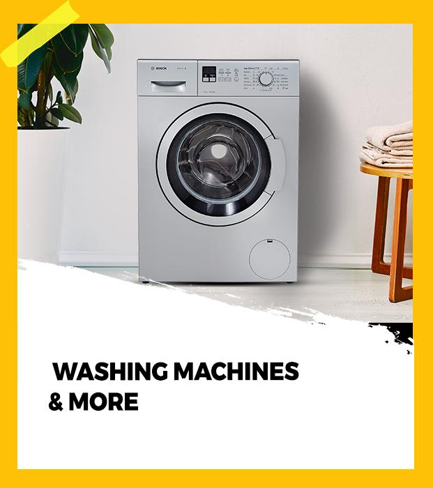 Washing machine and more