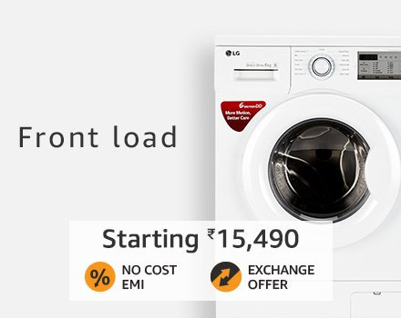 front load washing machines