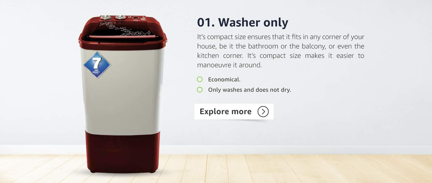 Washer Only