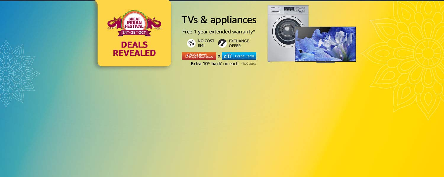 Large appliances and TVs