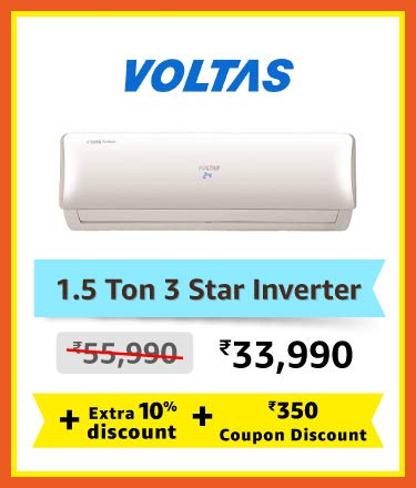 Voltas 1.5 Ton 3 Star Inverter