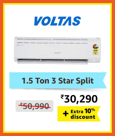 Voltas 1.5 Ton 3 Star split