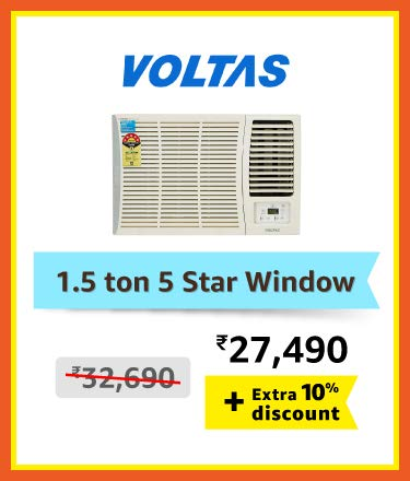 Voltas 1.5 ton window