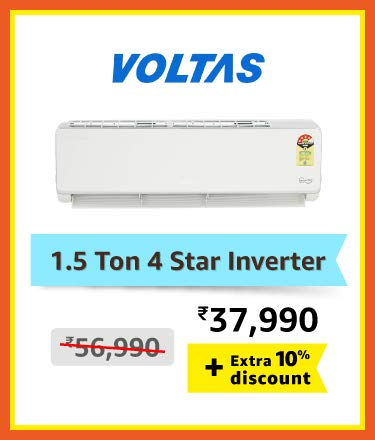 Voltas 1.5 ton 4 star inverter