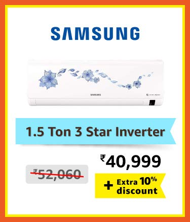Samsung 1.5 ton 3 star Inverter