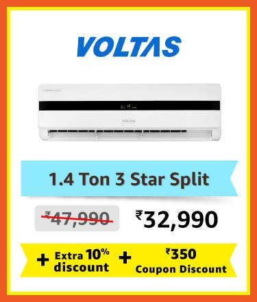 VOltas 1.4 ton 3 star split