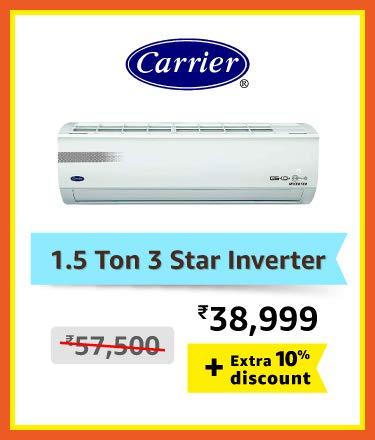 Carrier 1.5 Ton 3 Star Inverter