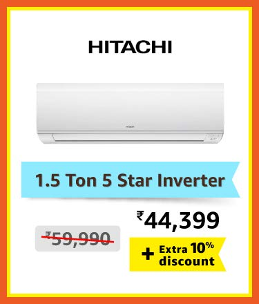 Hitachi 1.5 ton 5 star inverter