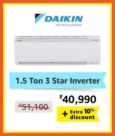 Daikin 1.5 ton inverter