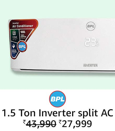 BPL 1.5 ton inverter Split AC