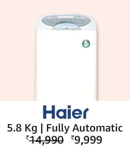 Haier 5.8 kg fully automatic