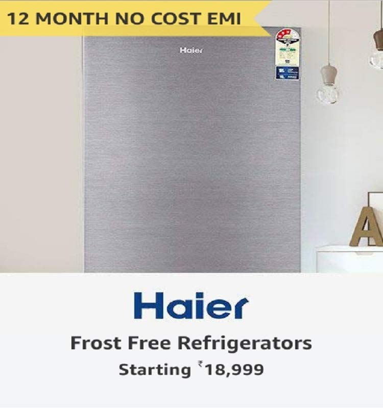Haier Frost free refrigerators