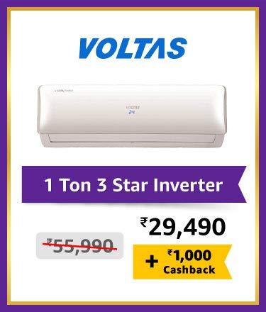Voltas 1 Ton 3 Star Inverter