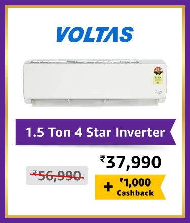 Voltas 1.5 Ton 4 Star Inverter