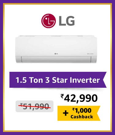 LG l1.5 Ton 3 Star Inverter