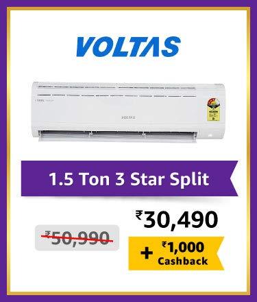Voltas 1.5 Ton 3 Star Split
