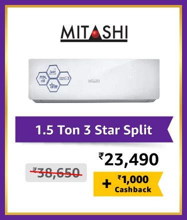 Mitashi 1.5 Ton 3 star