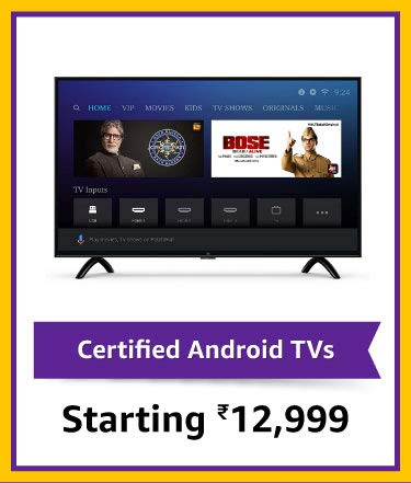 Certified Android TVs