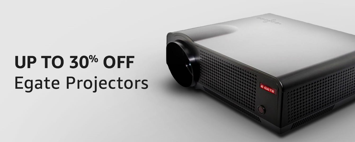 Up to 30% off Egate Projectors