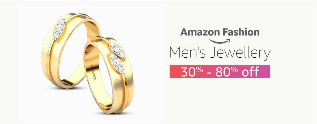Jewellery for Men Buy Jewellery for Men line at Best Prices in