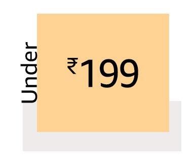 under 199