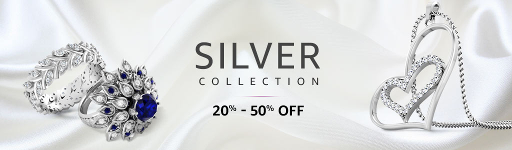 Buy Pure Silver Ring Online India
