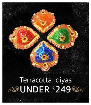Teracotta diyas under 249