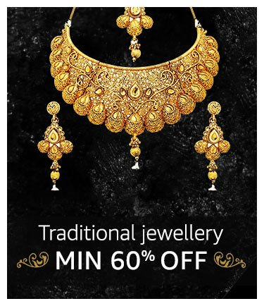 Ethnic Jewellery : Minimum 60% off