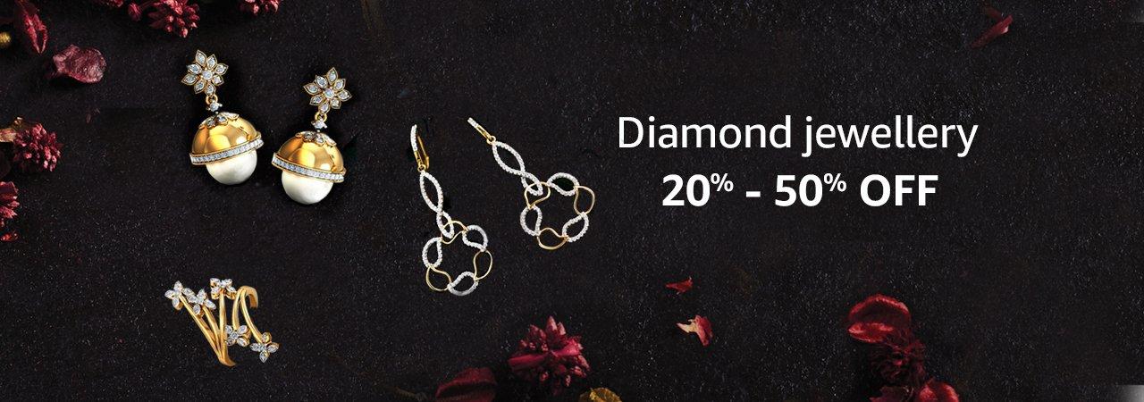 off on Gold & Diamond Jewellery