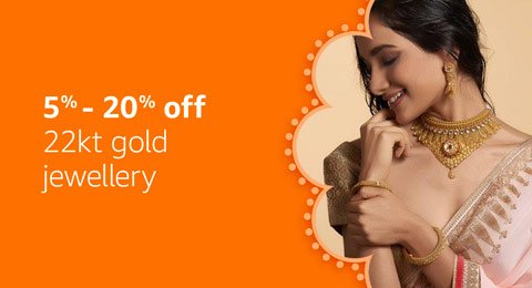 Amazon Fashion 22kt gold