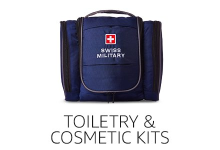 Toiletry & Cosmetic Kits