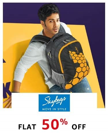 Skybags: Flat 50% Off