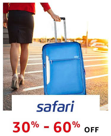 Safari: 30% - 60% off