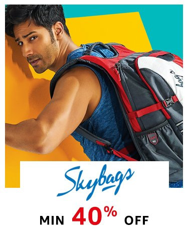 Skybags: Min 40% off