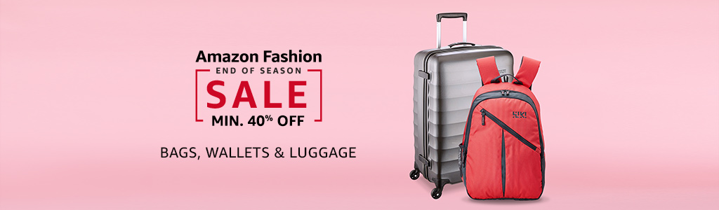 Bags, Wallets & Luggage: Min 40% off