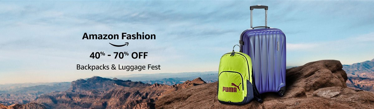 6c0d8e388509 Amazon.in  Backpacks   Luggage Fest  Bags